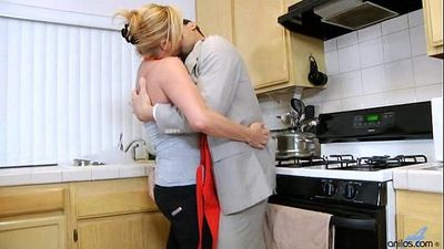 Hardcore Milf in Kitchen