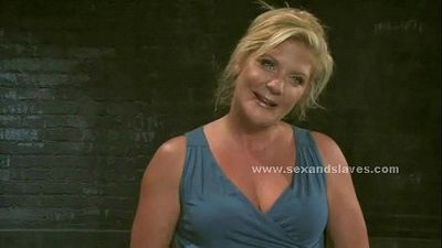Bitch fingered and fucked in brutal sex