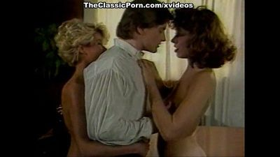 Ginger Lynn Allen, Kristara Barrington, Erica Boyer in classic sex video