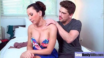 (Lezley Zen) Hot Big Melon Tits Milf Enjoy Hardcore Bang video-17