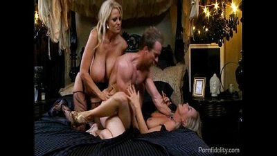 Bree Olson and Kelly Madison Are The F Team
