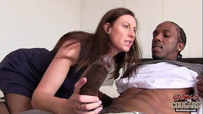 Lara Latex love Black Cock