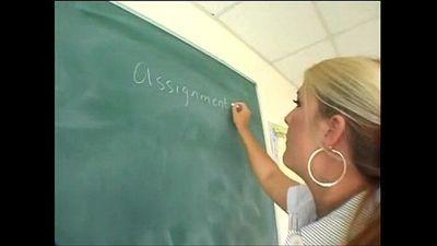 Chubby Teacher Fucks Student (WHO IS SHE)