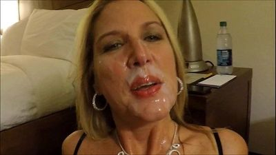 Matur Wife Sucking Big Cock Of Her Husband Nad Getting Cumshot All Over Her Cute Face - 1 min 44 sec