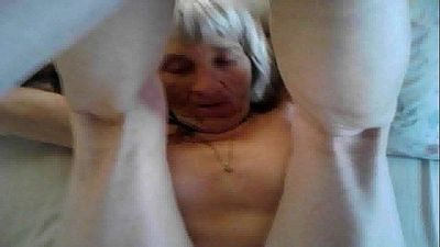 Grandma loves my hard cock - 55 sec