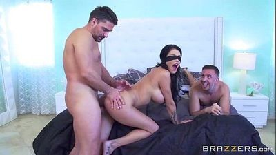 Cheating wife cuckold blindfolded http://porncatch.com/pornstarslikeitbig-pass-p - 2 min