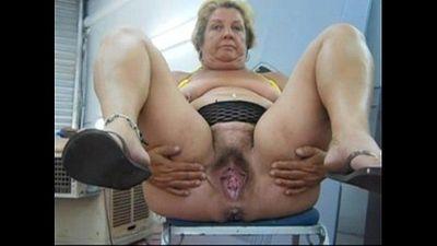 Slut BBW Granny - CassianoBR - 27 sec