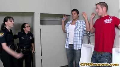 Dana Dearmond hot cop gets facialized - 8 min