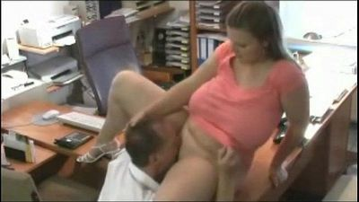 Busty secretary in the office - 8 min