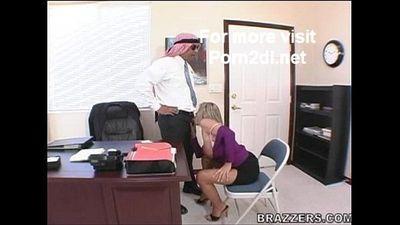 Kristal Summers - Big Tits Boss (Blowjob) - 4 min