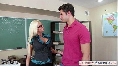 Sex teacher Nikita Von James fuck - 8 min HD