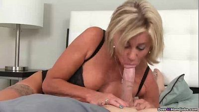ov40-Naughty milf POV blowjob - 6 min HD