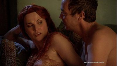 Lucy Lawless - Spartacus: Blood and Sand S01E10 - 1 min 15 sec HD
