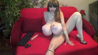 Sandy QueenofSwords Mature Huge Tits Webcam - 5 min
