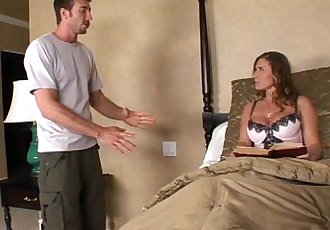 Devon Lee gets her sweet peice of pussy pummeled by her son\