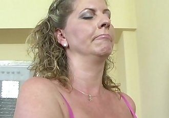 Euro chubby cougar first time fucking black man on camHD