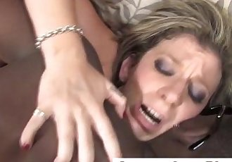 Mature blondie gets cumshot after being fucked
