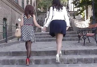 British glamcore milf fingers teen babe - 8 min HD