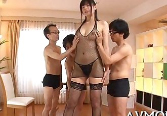 Horny mom gets kinkly with sextoy - 5 min