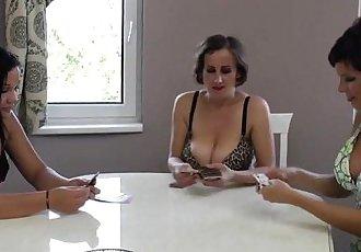Hungarian milfs amateur home lesbian party