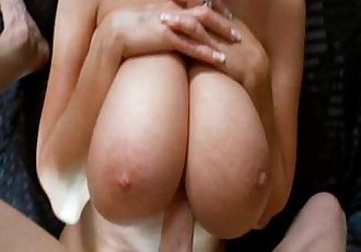 Huge Natural Titties Getting Fucked By A Big Cock - 4 min
