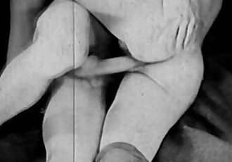 Vintage Porn from the 1930sGirl-Girl-Guy Threesome