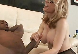 Nina HartleyMilf Interracial Double Penetration