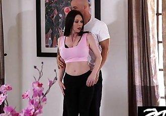 Hot BIG TIT MILF fucks her personal trainerHD