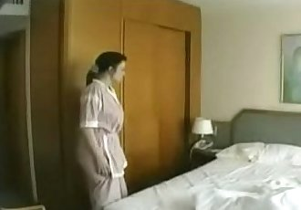 German maid seduced & fucked