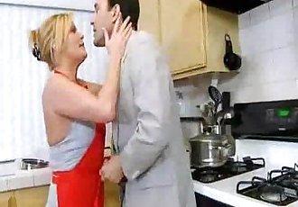 Hardcore Mature Milf in Kitchen - 4 min