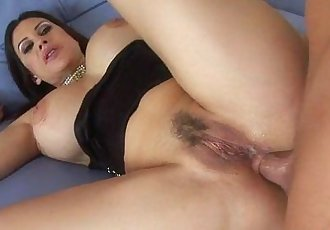 Horny Sheila Marie gets a massive cumshot!