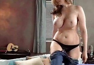 Intercorse With Hungry For Sex Bigtits Housewife video-15