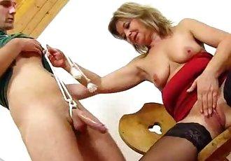Pretty screw teacher Jane loves to see cum