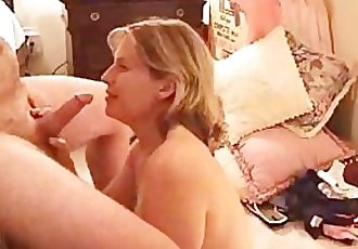 Cock-Hungry Wife Sucking