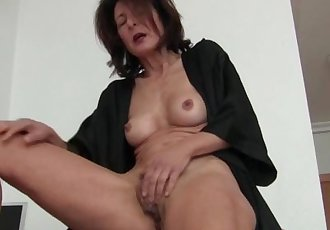 Watching porn ignites grandma\