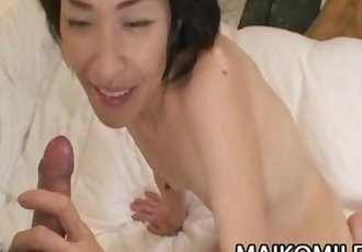 Yukie Matsui - Japanese Granny FUcked By A Young COck