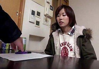 业余的 亚洲 青少年 搞砸 上 洗衣 机 - 8 min hd