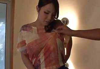 Miho Tsujii fully stimulated before hard fucked - 12 min