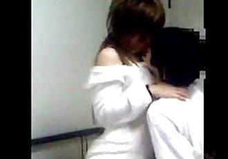 年輕的 中國 夫婦 自制的 性愛 視頻