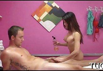 性愛 接收 美 與 按摩 - 6 min