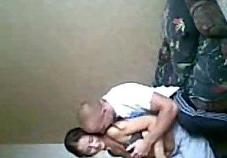 Asian teen fucked by Russian skinhead! - 34 min