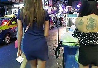 泰國 女孩 - gogo 舞蹈演員 vs 酒吧 女孩 哪 都 更好的 隱藏 攝像機 - 泰國 - 11 min