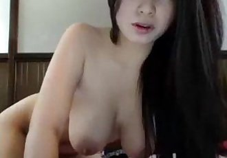Asian Girl Inserts Dildo in Ass - Chat With Her @ Asiancamgirls.mooo.com - 10 min