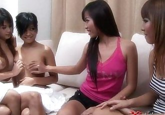 Asian Candy Shop Girls - 4 min HD