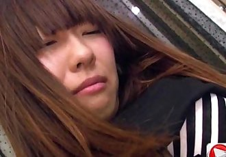 Kotono Watase Her first professional groping HD Porn - 13 min