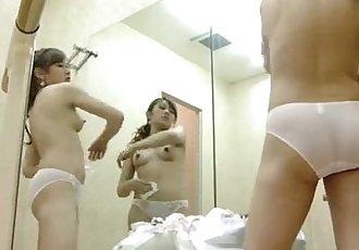 www.Fuckshet.com - Beautiful naked girls in the dressing room 3 - 5 min