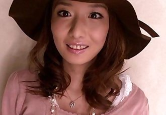 Pretty japanese teen at a messy bukkake - 8 min HD