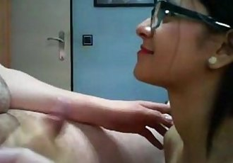 Cousin Sister Horny with hige boobs cum on her face - 12 min