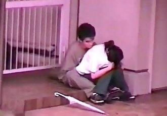 的秘密 爱情 在 的 公园 拿 通过 隐藏 摄像机 真的 浪漫的 他妈的 - 60 min