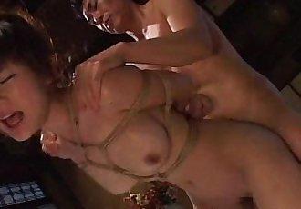 綁 起來 和 她的 獲取 她的 泡泡 屁股 搞砸 - 8 min